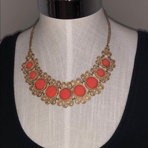 Boutique brand gold Indian inspired necklace